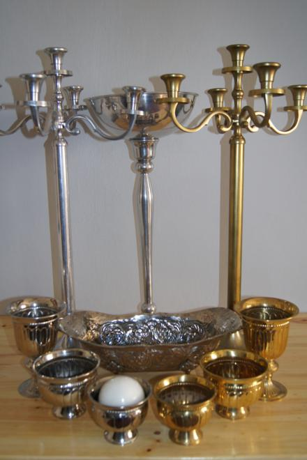 silver and gold range
